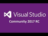 Microsoft Visual Studio Community 2017 иконка
